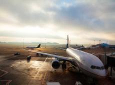 Vluigtuigen op Brussels Airport