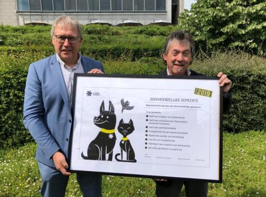 Nieuw label diervriendelijke gemeente