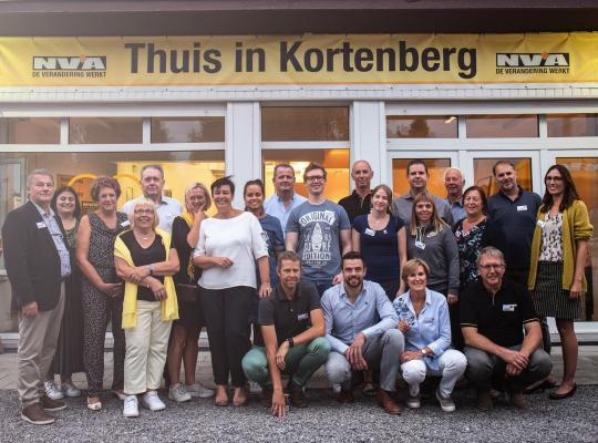 N-VA Kortenberg pop-up campagnehuis Bart Nevens